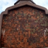 Walls like this surround Queens pagoda
